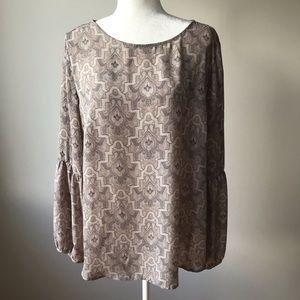 Violet & Claire Long Sleeve Blouse XL